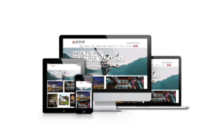 Website design for events and travel business company ROFIMI