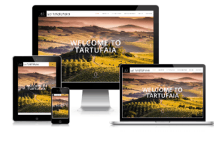 Website design and development for Tartufaia Hotel